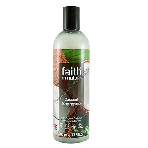 Champú de Coco, 250 ml. Faith in Nature