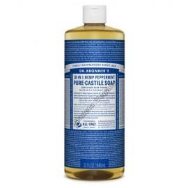 Gel de Baño todo en uno con Menta, 945 ml. Dr. Bronner´s