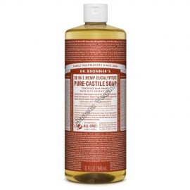 Gel de Baño todo en uno con Eucalipto, 945 ml. Dr. Bronner´s