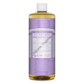 Gel de Baño todo en uno con Lavanda, 945 ml. Dr. Bronner´s