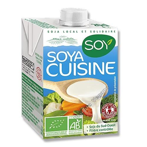 Nata para Cocinar de Soja, 500 ml. Soy