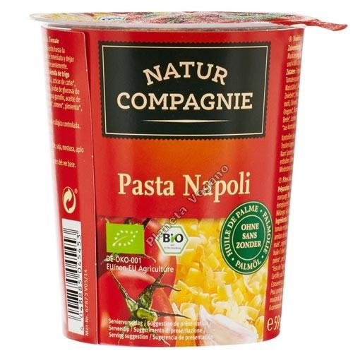 Tallarines con Salsa de Tomate, 59g. Natur Compagnie