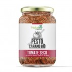 Pesto de Cáñamo y Tomate Seco, 140g. Holoslife