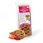 Tartaleta de Espelta con Fresa y Frambuesa, 200g. Espiga Biológica