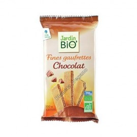Wafers de Chocolate, 200g. Jardin Bio