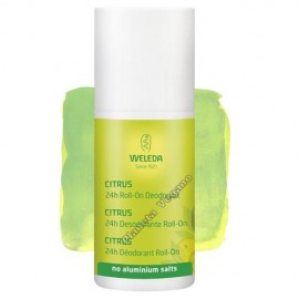 Desodorante Roll-On Citrus, 50 ml. Weleda