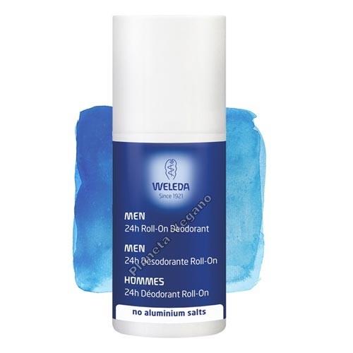 Desodorante Roll-On Men, 50 ml. Weleda