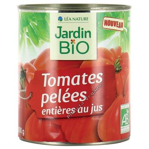 Tomates Pelados Enteros, 800g. Jardin Bio
