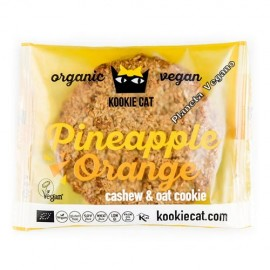Cookie de Piña y Naranja, 50g. Kookie Cat
