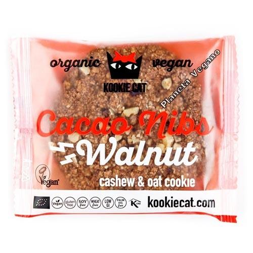 Cookie de Nueces y Pepitas de Cacao 50g. Kookie Cat