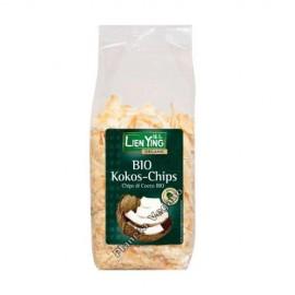 Chips de Coco Tostados, 150g. Lien Ying