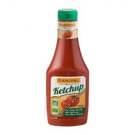 Ketchup con Melaza de Arroz, 560 g. Danival