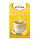 Yogi Tea Jengibre y Limón 30g.