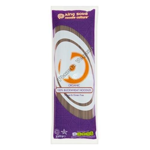 Noodles de Trigo Sarraceno, 250g. King Soba