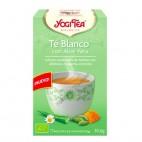 Yogi Tea Té Blanco con Aloe Vera 30g.