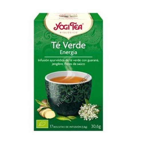 Yogi Tea Té Verde Energía 30g.