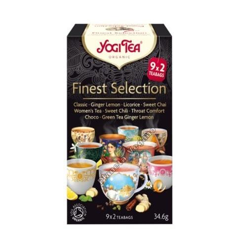 Yogi Tea Finest Selection 34g.