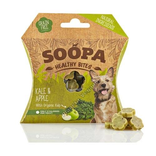 Bocaditos Saludables de Kale y Manzana, 50g Soopa