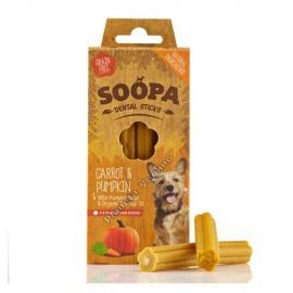 Bocaditos Masticables de Zanahoria y Calabaza, 50g Soopa
