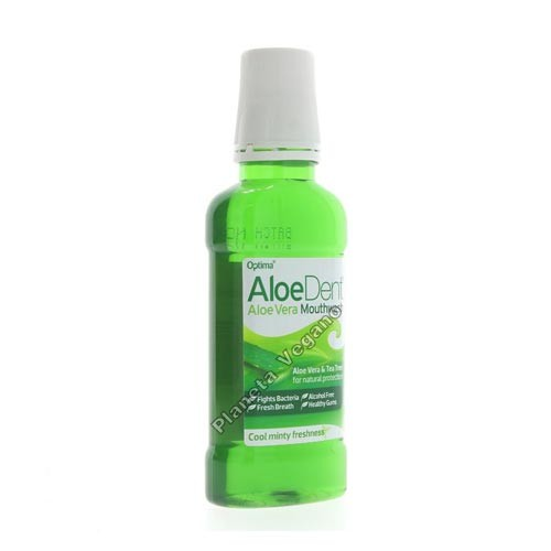 Enjuague Bucal con Aloe Vera, 250ml. Aloe Dent