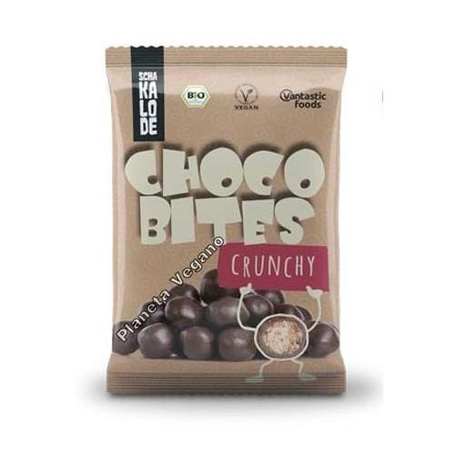 Bolitas de Chocolate Vegano Crujiente, 40g. V.F.