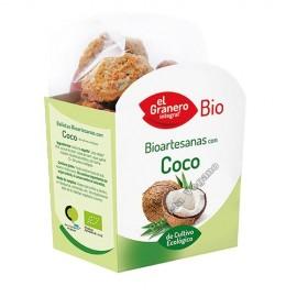 Galletas Bio Artesanas de Coco, 220g. Biogran