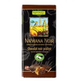 Chocolate Negro relleno con Crema Praliné, 100g. Rapunzel