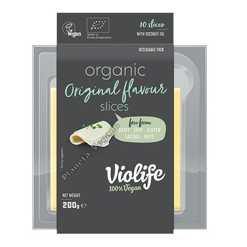 Queso Vegano Violife Original BIO en lonchas, 200g Violife