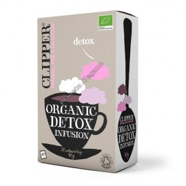 Infusión Detox, 40g. Clipper