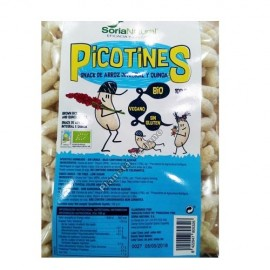 Ganchitos-Picotines de Arroz Integral y Quinoa, 100g. Soria Natural