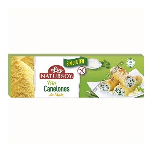 Canelones de Maíz, 250g. Natursoy