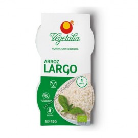 Arroz Blanco Largo, 2x125g. Vegetalia