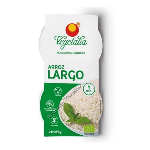 Arroz Blanco Largo, 2x125g. Vegetalia