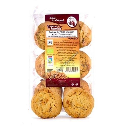 Cookies de Kamut con Naranja, 300g. Horno de Leña