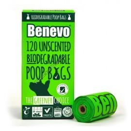 Bolsas Biodegradables para Heces de Perro, Benevo