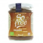Chocolate para Untar Organico con Naranja. 275 g. Plamil
