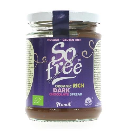 Chocolate para untar ecológico. 275 g. Plamil