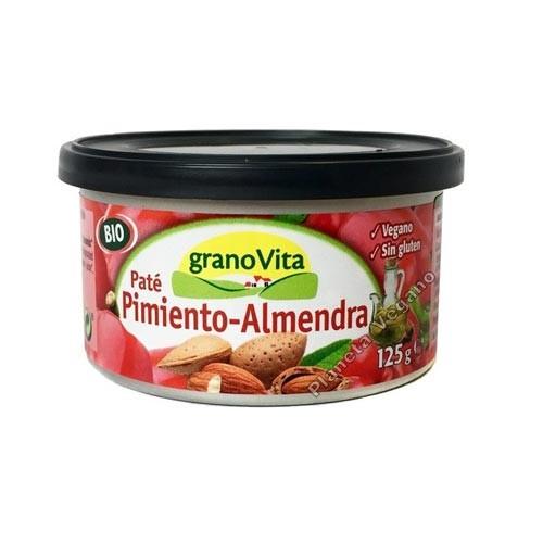 Paté de Pimiento y Almendra, 125g. Granovita