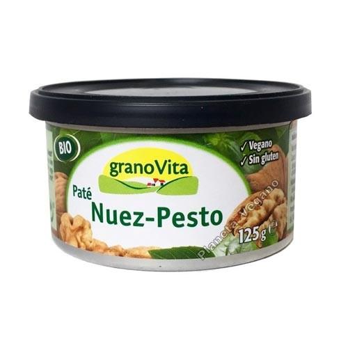 Paté de Nuez y Pesto, 125g. Granovita