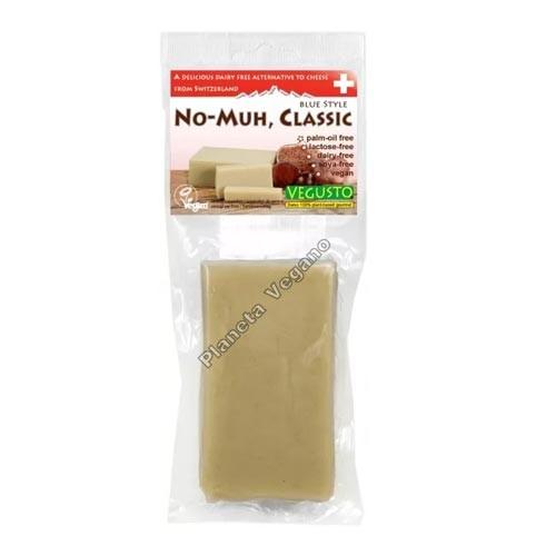 Queso Vegano No-Moo clasico, 200g. Vegusto