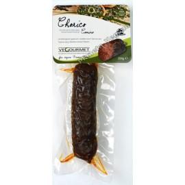 Chorizo Vegano con Comino, 200g. Vegourmet