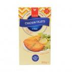 Filetes de Tofu Empanados, (Chikin Fillet) 200 g. Viana