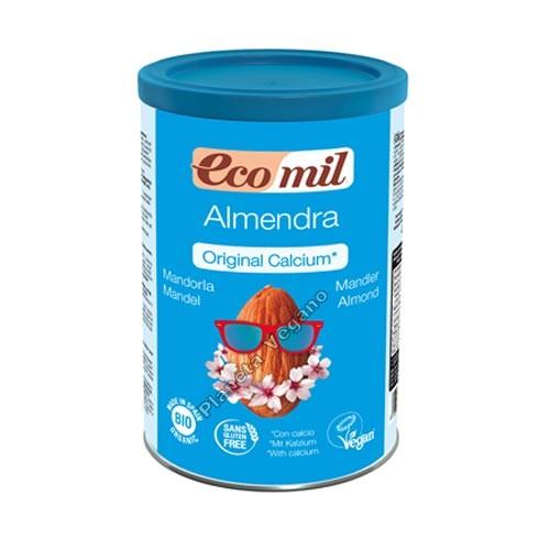 Bebida de almendra en polvo Calcio Bote de 400 g. EcoMil