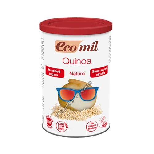 Bebida de quínoa en polvo, Bote de 400g. EcoMil