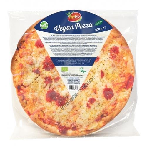 Pizza Margarita Vegana Ecológica, 300g Vivibio