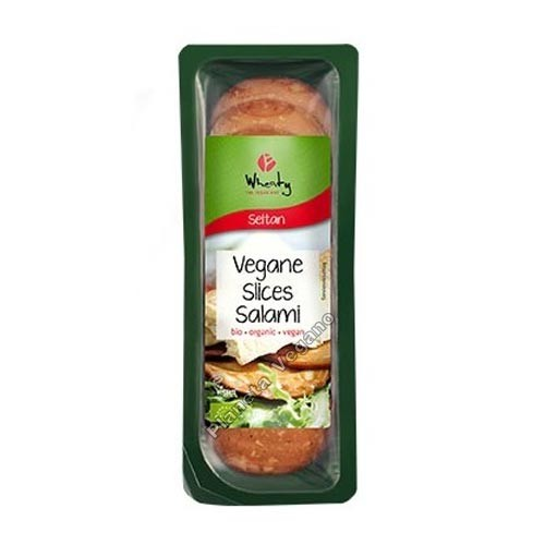 Salami Vegano en Lonchas, 100g. Wheaty
