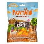 Nudos Masticables de Batata, 180 g. Benevo