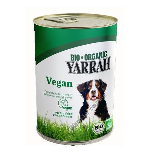 Pienso Húmedo Vegano sin cereales y con Arándanos, 380 g. Yarrah