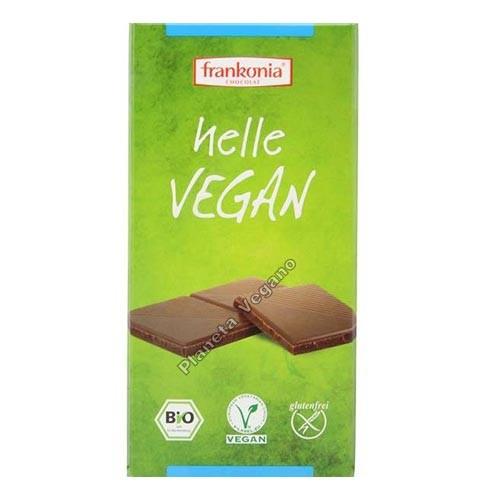 Chocolate Vegano Alternativo a la Leche 100g. Frankonia