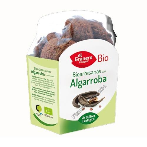 Galletas Bio Artesanas de Algarroba, 220g. El Granero